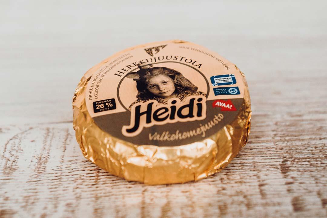 Herkkujuustola - Heidi juusto