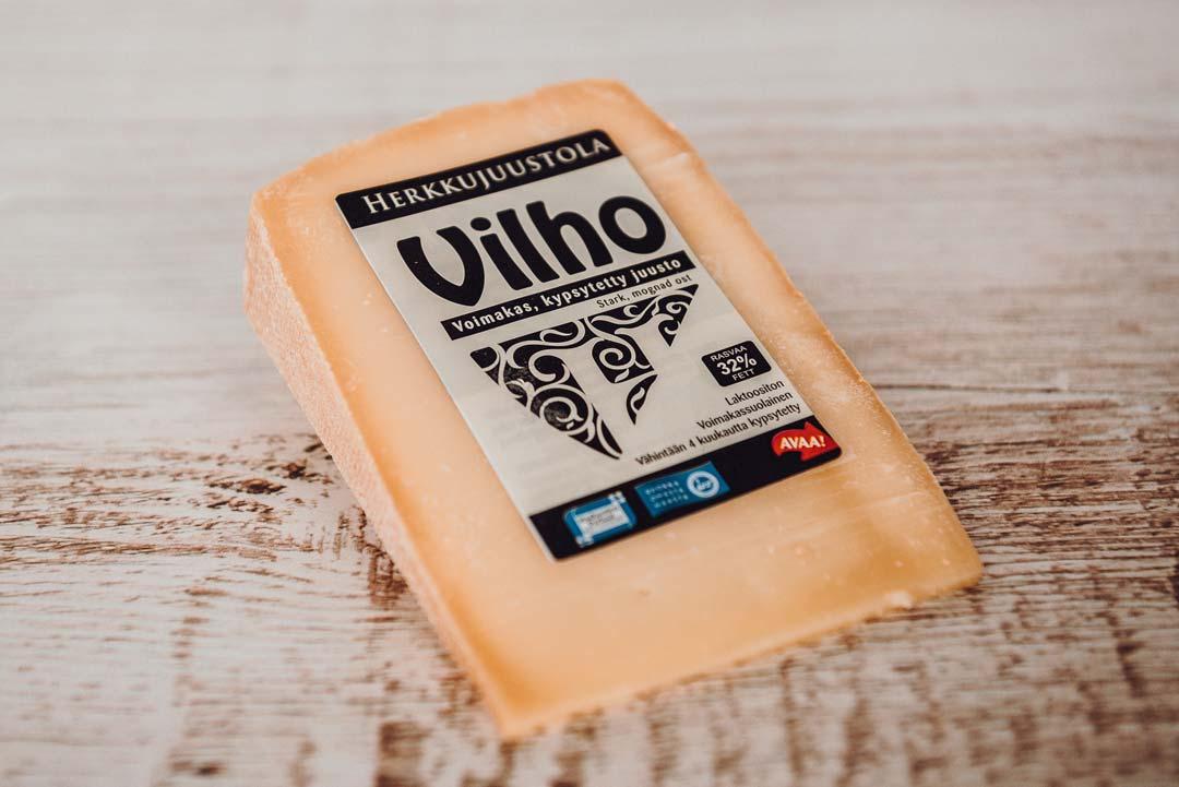 Herkkujuustola - Vilho juusto