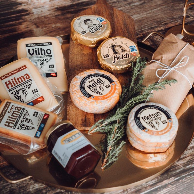Osta juustot kotiin