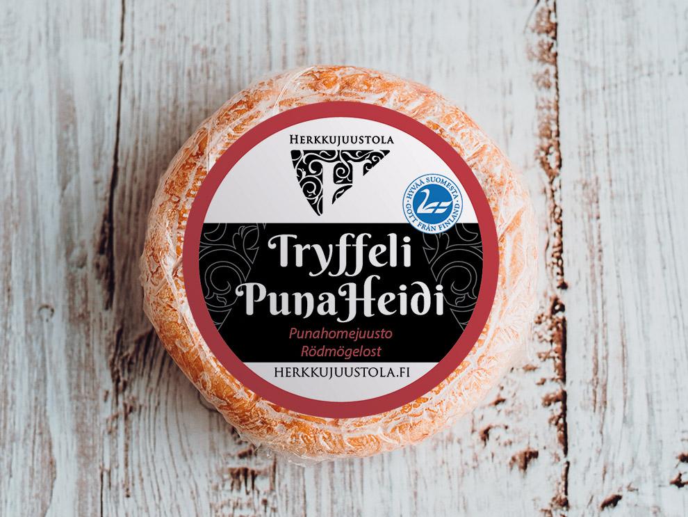 Herkkujuustola - Tryffelipunaheidi Juusto